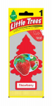 Car Freshner U1P-10312 Strawberry Air Freshener - 24 Pack