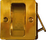National Mfg/Spectrum Brands Hhi N216-069 Pocket Door Pull, Brass