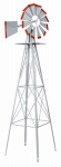 Smv Industries 48A American Windmill Lawn Ornament, 8-Ft.