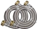 Watts Brass & Tubular 2PBSPW60-1212 2-Pack Washing Machine Hose