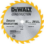 Dewalt Accessories DW9054 5-3/8-Inch 24-TPI Carbide-Tipped Cordless Saw Blade