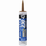 Dap 18412 Dynaflex Latex Sealant, Cedar Tan, 10.1-oz.