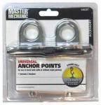 Trade Of Amta Dba Boxer Tools MM61 Chrome Universal Anchor Points, 2-Pk.