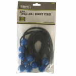 Max MM43 10-Pack Bungee Cords With Toggle Balls