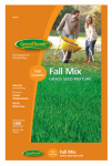 Barenbrug Usa 548654 Fall Grass Seed, 3-Lb.