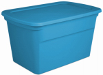 Sterilite 17364306 Storage Tote, Blue, 30-Gal., Must Order in Quantities of 6