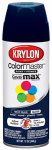 Krylon Diversified Brands K05190702 Colormaster Spray Paint, Indoor/Outdoor Use, Gloss Navy Blue, 12-oz.