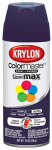 Krylon Diversified Brands K05191302 Colormaster Spray Paint, Indoor/Outdoor Use, Gloss Purple, 12-oz.
