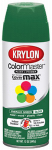Krylon Diversified Brands K05201602 Colormaster Spray Paint, Indoor/Outdoor Use, Gloss Emerald Green, 12-oz.