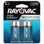 "Spectrum/Rayovac 814-2J Alkaline Batteries, ""C"", 2-Pk."