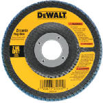 Dewalt Accessories DW8309 4.5-In. 80-Grit Zirconia Flap Disc
