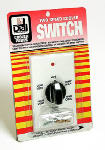 Dial Mfg 7112 Evaporative Cooler Wall Switch, 2-Speed, 6-Position, Ivory
