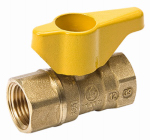 "Homewerks Worldwide VGV2LHB3CB 1/2"" Brass Gas Ball Valve"