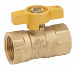 "Homewerks Worldwide VGV2LHB4CB 3/4"" Brass Gas Ball Valve"
