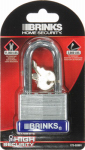 Hampton Prod Intl 172-52091 2-Inch Laminated Steel Padlock With Long Shackle