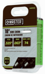 Oregon Cutting Systems L74 Chainsaw Chain, 35Sl Pro-Guard Chisel C-Loop, Fits Stihl Models, 18-In.