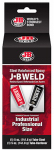J-B Weld 8280 10-oz. Industro Cold Weld Compound (Two 5-oz. Tubes)