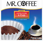 Rockline Industries JR100 4-Cup Coffee Filters, 100-Count