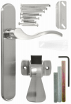 Hampton Products-Wright VBG115SN Serenade Storm Door Latch Lever, Satin Nickel