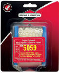 Midwest Engine Warehouse 5059K Air Filter Cartridge With Pre-Cleaner