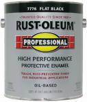 Rust-Oleum K7776-402 GAL Flat BLK Enamel