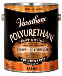 Rust-Oleum 214551 Varathane Oil-Base Premium Polyurethane Floor Finish, Gallon Semi-Gloss