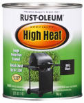 Rust-Oleum 7778-502 Qt. BBQ Black Satin High Heat Paint