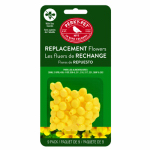 Woodstream 202FB 9-Pack Replacement Yellow Feeder Flowers