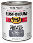 Rust-Oleum 7780-502 Qt. White Clean Metal Primer