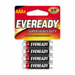 "Eveready Battery 1212SW-4 4-Pack ""AAA"" Super Heavy-Duty Batteries"