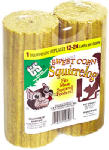 C & S Products 608 Bird Food, Sweet Corn Squirrelogs, 32-oz., 2-Pk.