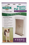 Radio Systems PPA00-10960 Pet Door, White Plastic, Large