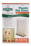 Radio Systems PPA00-10959 Pet Door, White Plastic, Medium