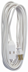 Ho Wah Gentin Kintron Sdnbhd 09415ME 20-Ft. 16/2 SPT-2 White Vinyl Cube Tap Extension Cord