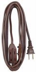 Ho Wah Gentin Kintron Sdnbhd 09405ME 20-Ft. 16/2 SPT-2 Brown Vinyl Cube Tap Extension Cord