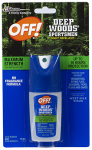 S C Johnson Wax 01849 Sportsmen Deep Woods Insect Repellent,1-oz.
