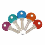 Kaba Ilco Y1-PC-ASSORTED Ilco Yale Cool Color Plastic Head Key Blanks