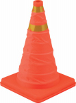 Hopkins Mfg/Bell Automotive 22-5-00238-8 Collapsible Orange Sport & Safety Cone, 16-In.
