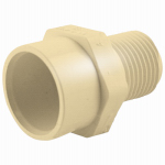 Genova Products 50475 3/4x1/2 Red MIP Adapter