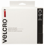 Velcro Usa Consumer Pdts 90197 Industrial Strength Fastener Tape, Black, 15-Ft. x 2-In.