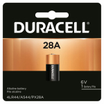 Duracell Distributing Nc PX28ABPK Duracell 6V Alkaline Photo Cell Battery