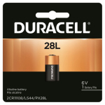 Duracell Distributing Nc PX28LBPK Duracell 6V Lithium Photo Battery