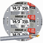 Afc Cable Systems 55082021 Conduit, Reduced Wall, Aluminum, 3/4-In. x 25-Ft. Coil