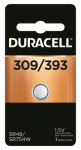 Duracell Distributing Nc D309/393PK Watch & Calculator Battery, Silver Oxide, 1.5-Volt