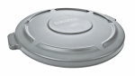 Rubbermaid Comm Prod 2631-00-GRAY Brute 32-Gallon Trash Can Lid, Gray