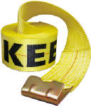 Hampton Products-Keeper 04926 Winch Strap, 4-In. x 30-Ft.