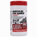 Oatey 45337 Hercules For Hands Hand Cleaning Towels, Pre-Moistened