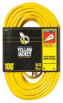 Southwire/Coleman Cable 2888 Yellow Jacket 100-Ft.15A 14-Gauge Extension Cord