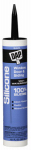 Dap 08642 Silicone Rubber Sealant, Black, 9.8-oz.