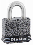 Master Lock 380D 1-1/2 Inch Laminated Steel Padlock With 4-Pin Cylinder  Rustoelum Finish